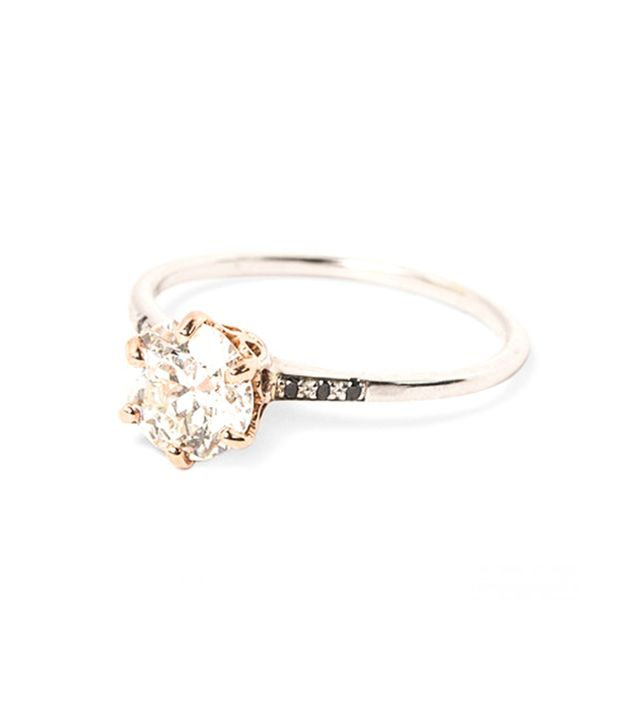 coolest solitaire engagement ring