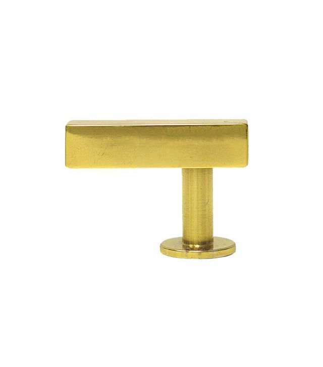 Lewis Dolin Bar Knob in Polished Brass