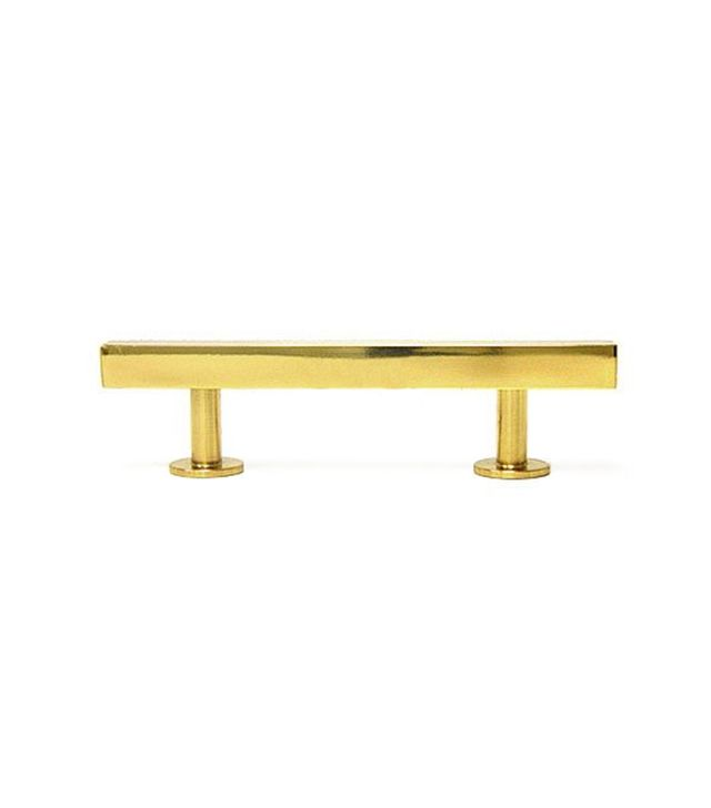 Lewis Dolin Bar Pull in Polished Brass