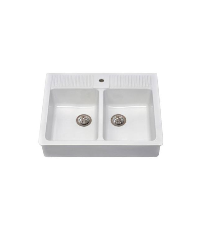 IKEA Domsjö Double Bowl Sink