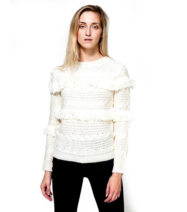Arcadia Fringe Sweater