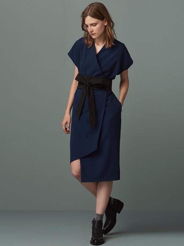 Sanford Obi Wrap Dress