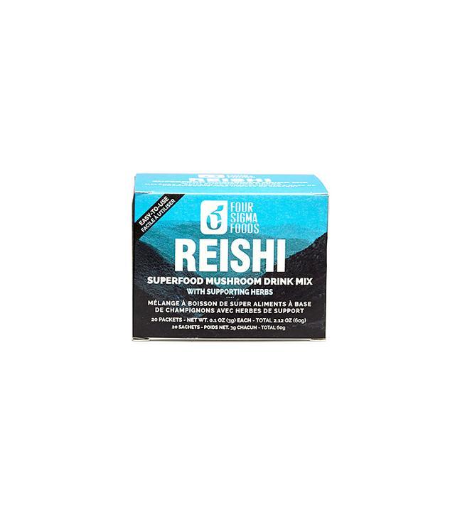 Four Sigma Foods Instant Reishi Herbal Mushroom Tea
