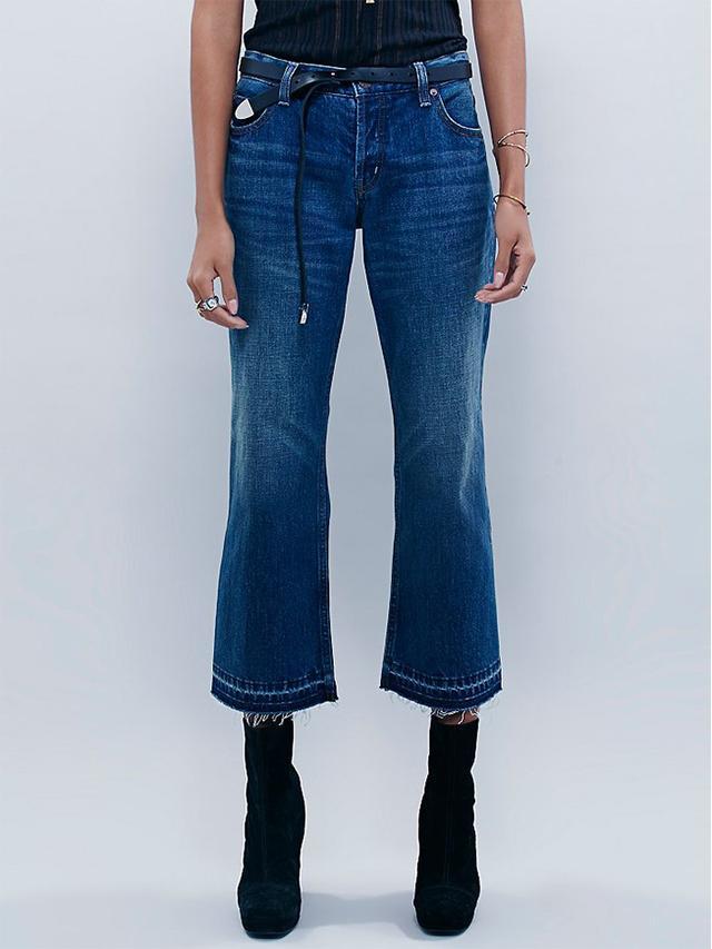 Free People Chelsea Crop Flare Pants
