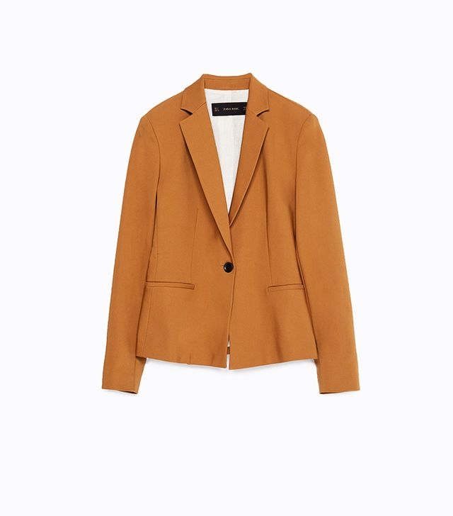 Zara Double Fabric Blazer