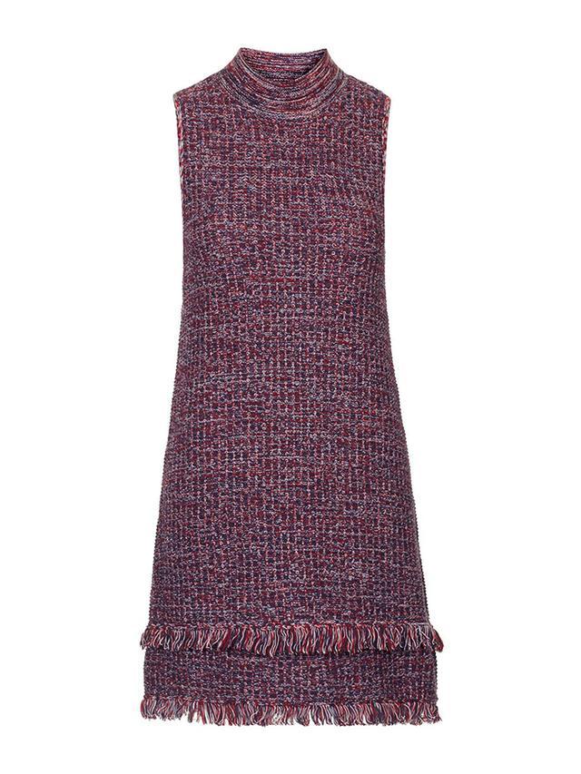 Topshop Tweedy Fringe Dress