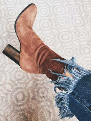 #TuesdayShoesday: 7 Seriously Stylish Suede Ankle Boots