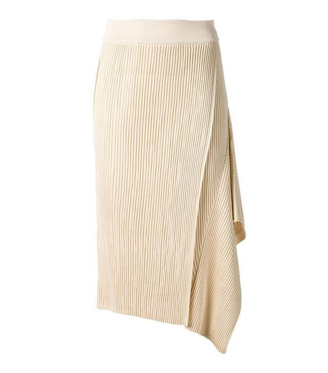 Stella McCartney Ribbed Twisting Skirt