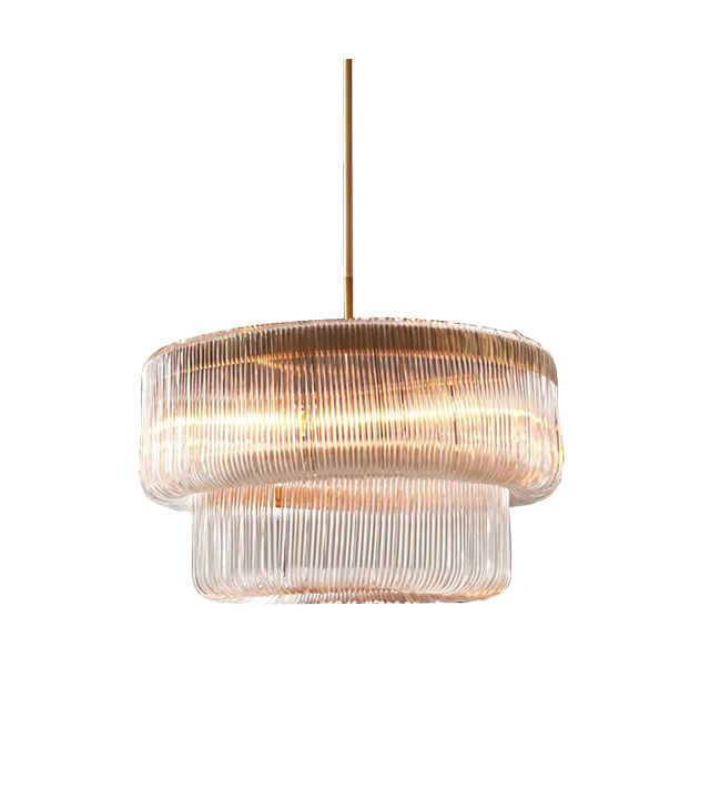 West Elm Waterfall Chandelier