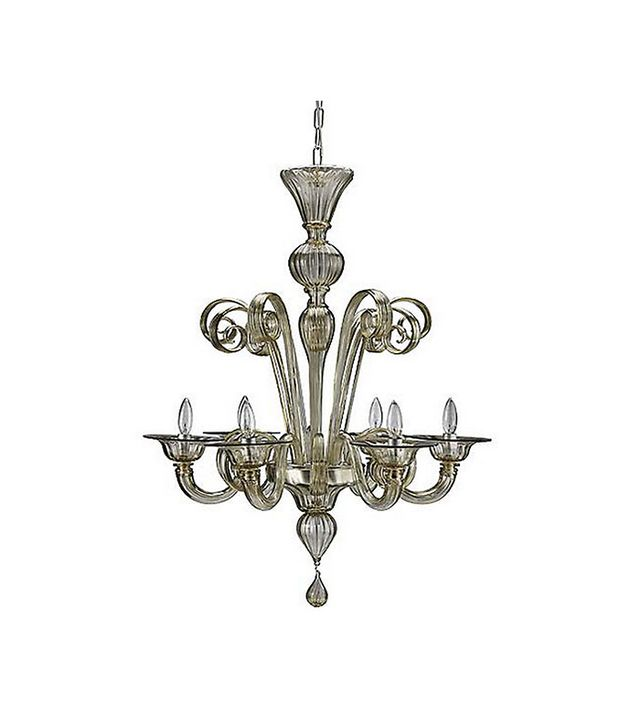 Design Within Reach Murano Glass Chandelier
