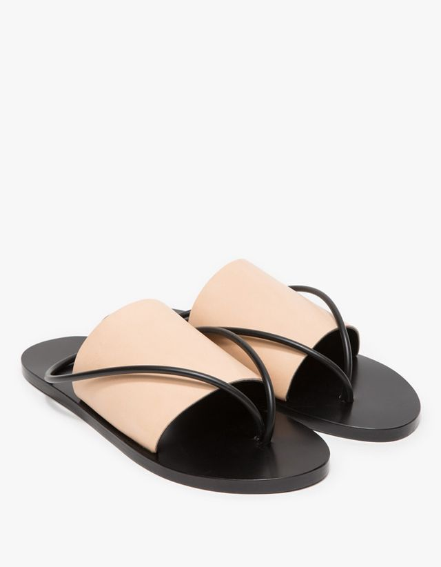 Building Block Nude Sandals
