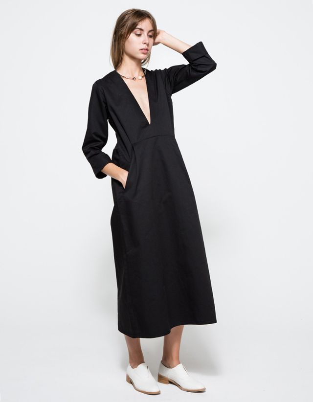 Toit Volant Blackberry Dress