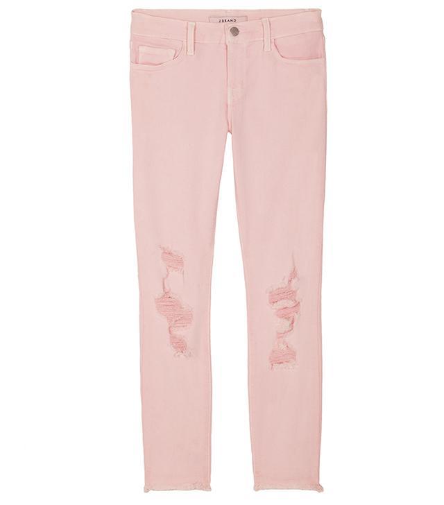 J Brand Little Pink Jeans