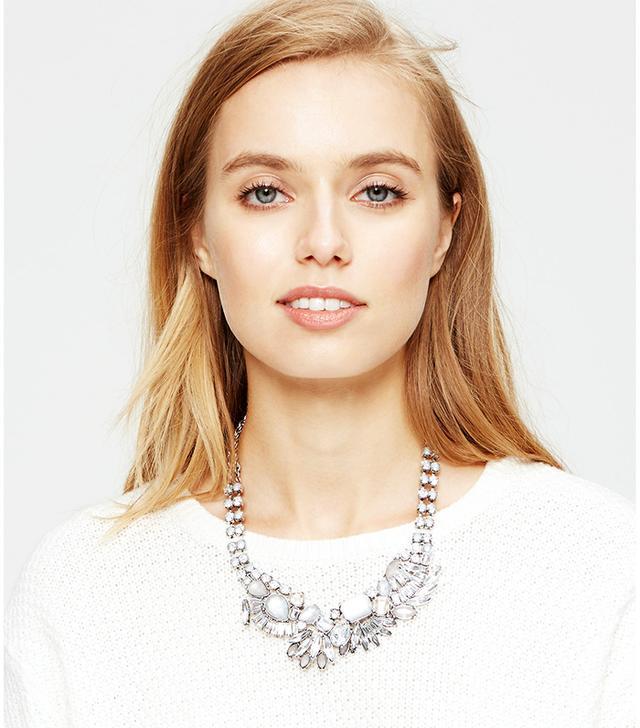 Loft Sparkle Statement Necklace