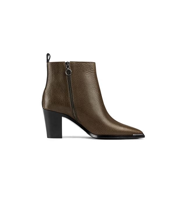 Acne Studios Loma Grain Fango Grey Boots