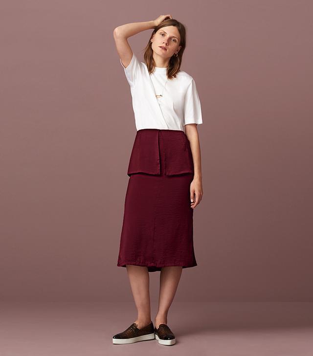 Finery Bideford Soft Peplum Skirt