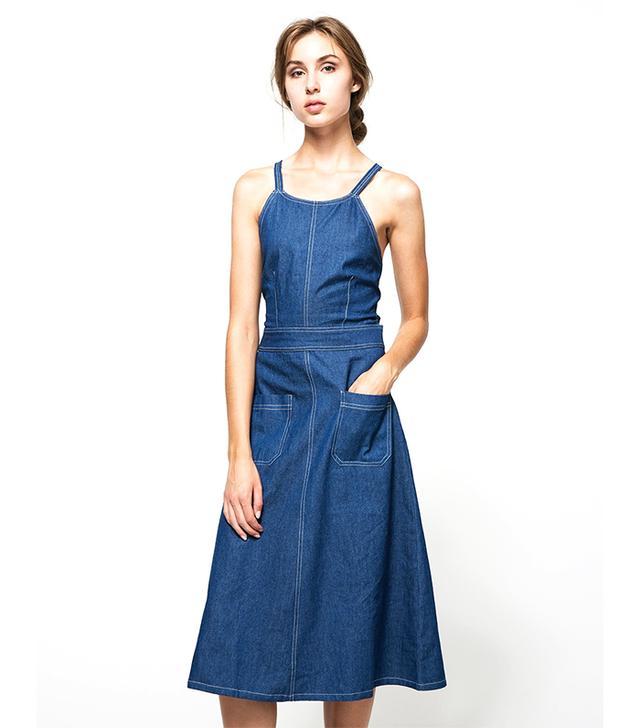 Farrow Stella Denim Dress