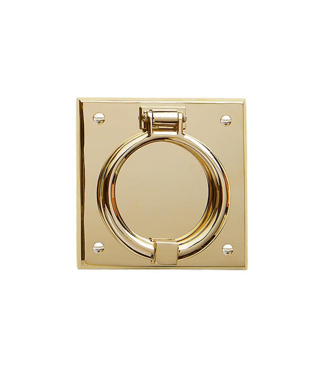 Rejuvenation Ring On Beveled Square Door Knocker