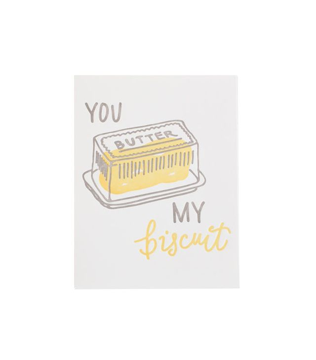 Belle & Union Butter My Biscuit Greeting Card