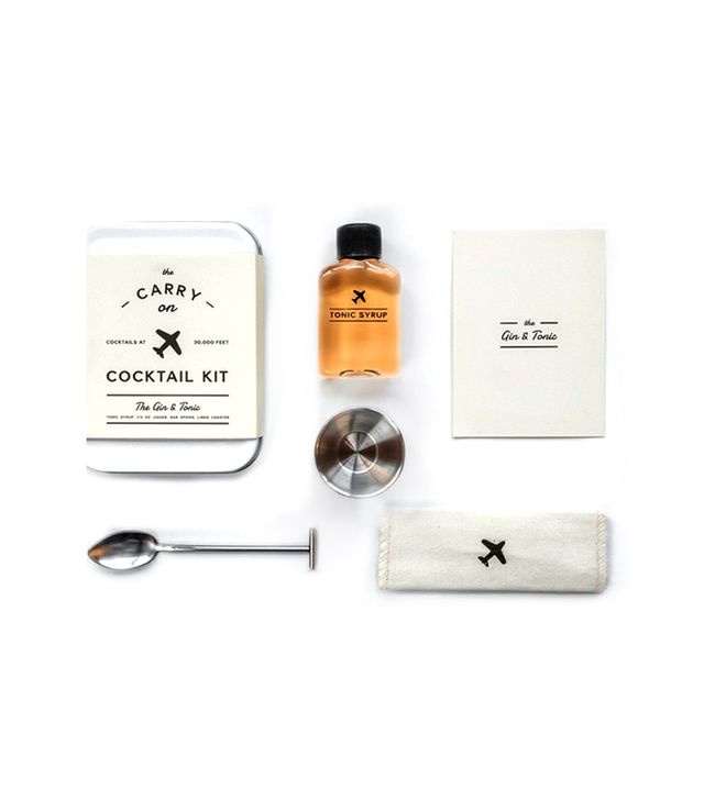 W&P Design The Gin & Tonic Carry On Cocktail Kit