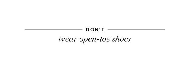 If you wear open-toeshoes of any sort to a fall wedding, you might get a few sideways glances. Not only are they for sure out of season, but they tend to be less dressy in general. It's...