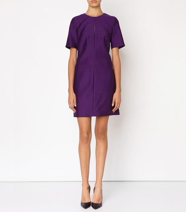 Adam Lippes Short-Sleeved Slip Dress
