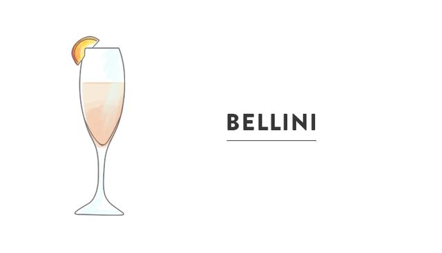 Location: Hotel Cipriani, Venice  Harry Cipriani invented this Prosecco-based white-peach cocktail at his bar in Venice in 1948. He named it after a Venetian artist who painted a picture of a...