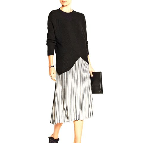 Stretch-Knit Skirt