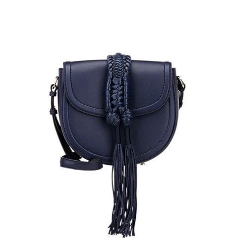 Ghianda Knot Small Saddle Bag