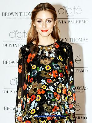 The Olivia Palermo–Approved Way to Wear Floral for Fall