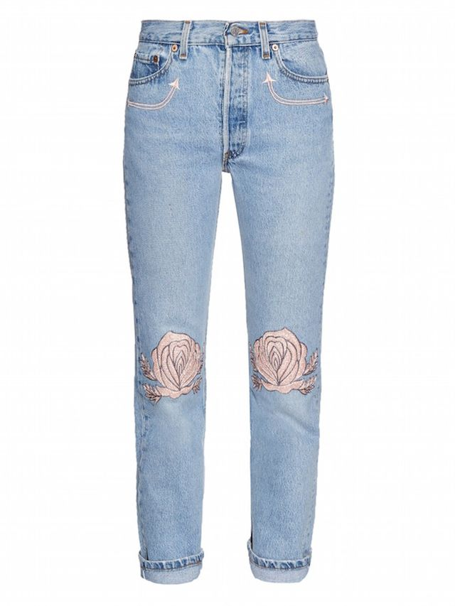 Bliss and Mischief Song of the West High-Rise Boyfriend Jeans