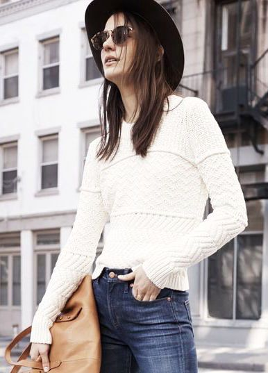 An Off-Duty Way to Wear Your Flared Jeans for Fall