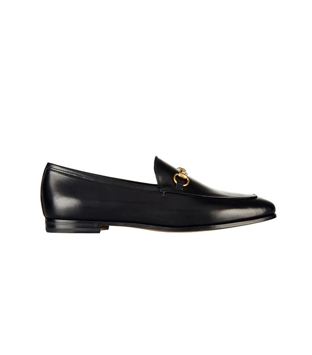 Gucci Horsebit Detailed Leather Loafers