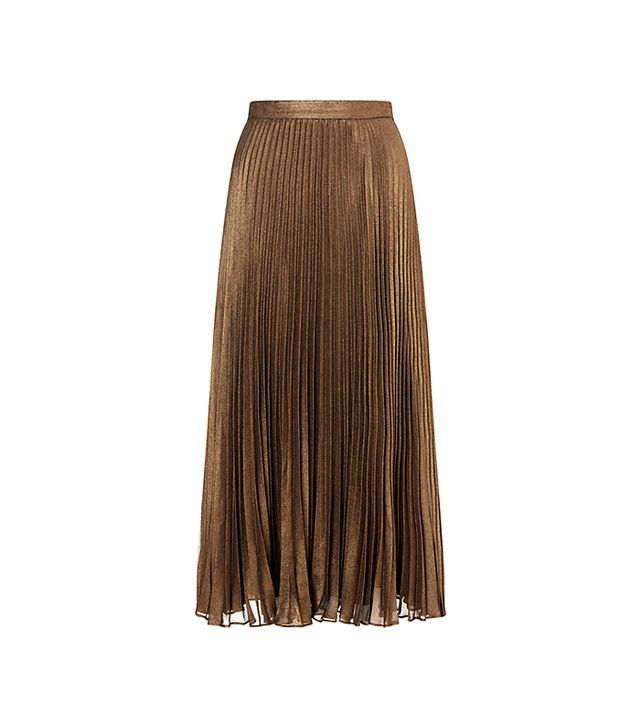 Bruce by Bruce Oldfield Pleated Skirt