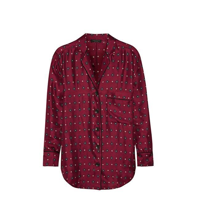 Rag & Bone Gabrielle Printed Shirt