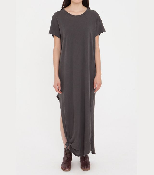 The Great Knotted Tee Dress