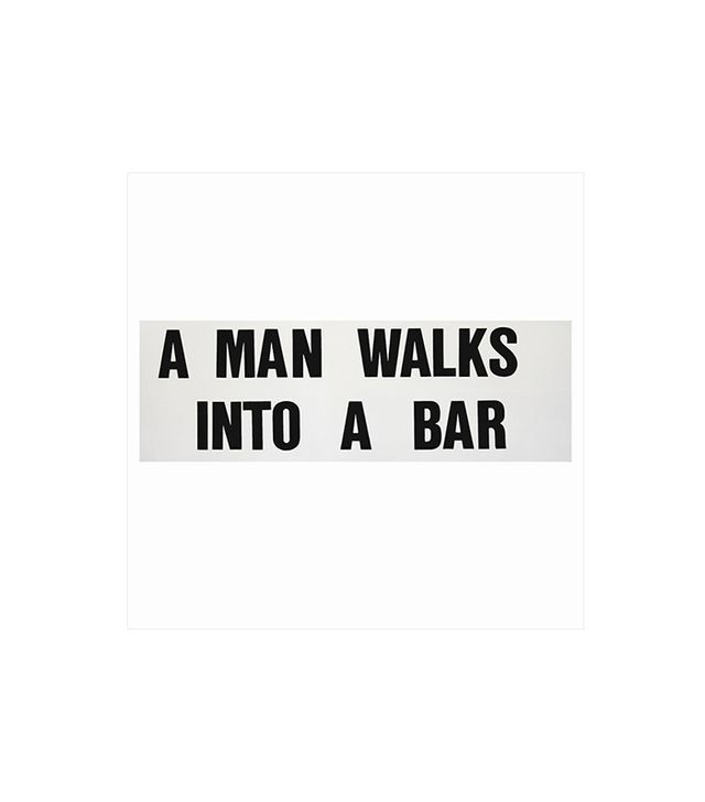 """A Man Walks Into A Bar"" by Leo Fitzpatrick"
