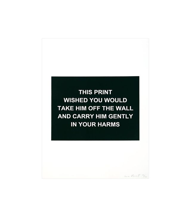 """This print wished you would..."" by Laure Prouvost"