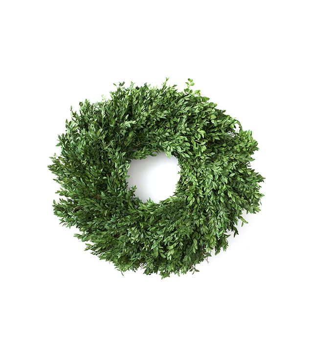 "Knud Nielsen Company 24"" Preserved Boxwood Wreath"