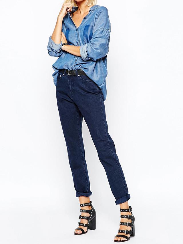 Cheap Monday Donna Slim Boyfriend Jeans