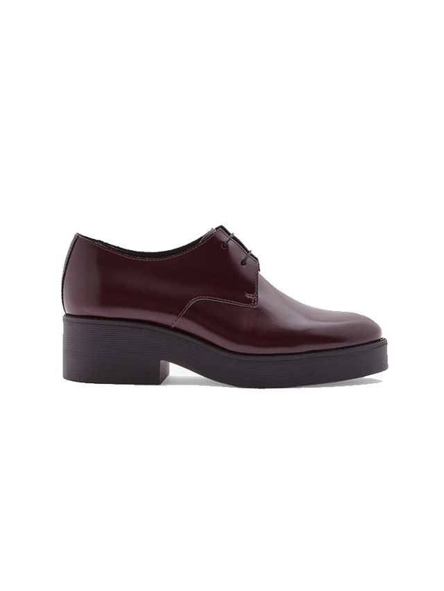 COS Block Heel Leather Shoes