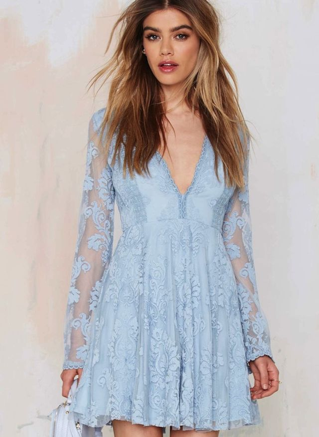 Nasty Gal Romantics Lace Dress