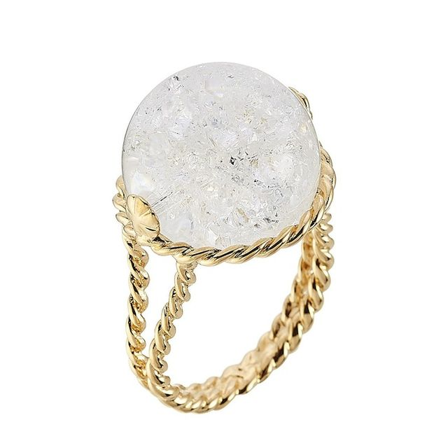 Aurélie Bidermann Lakotas Mountain Crystal Ring