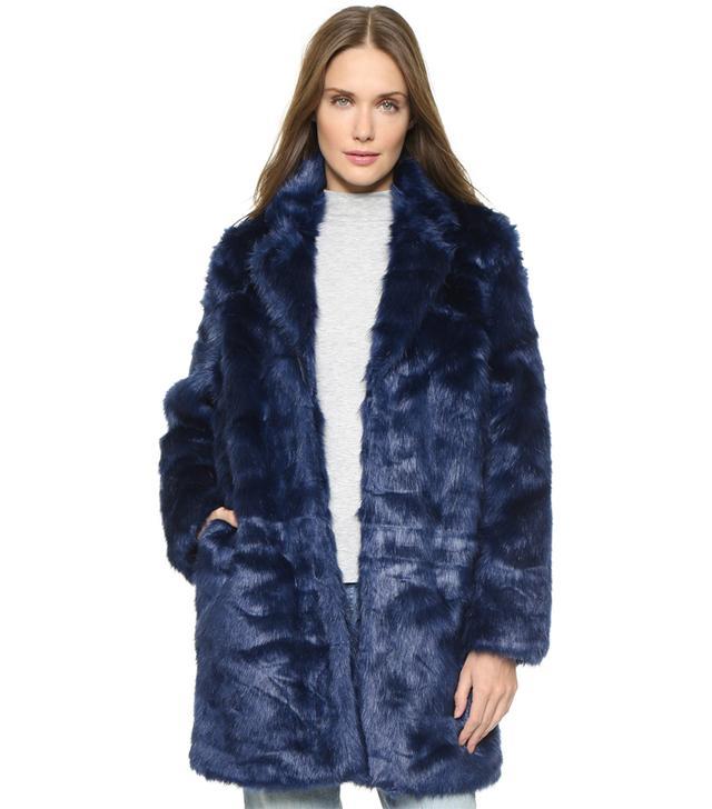 Won Hundred Marian Faux Fur Coat