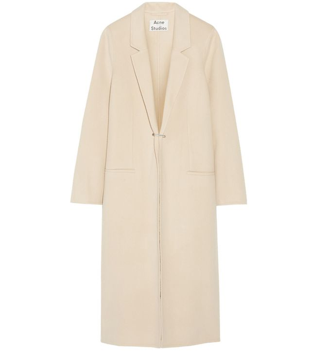 Acne Studios Foin Doublé Wool and Cashmere-Blend Coat