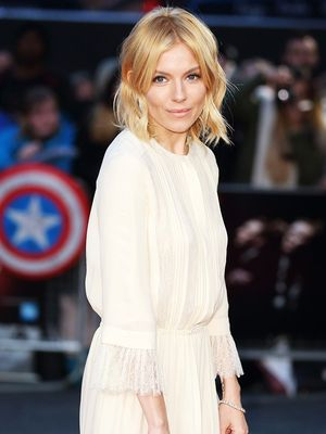 Sienna Miller Just Wore the Dreamiest White Dress