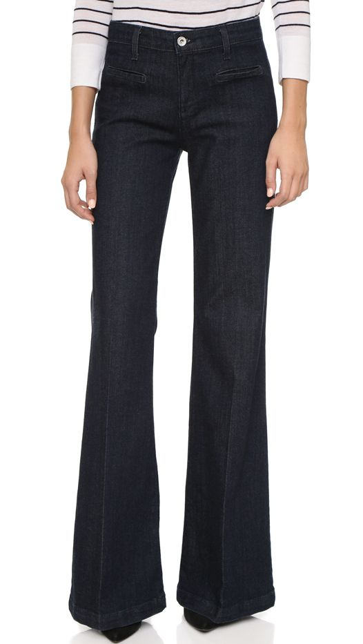 AG The Lana Wide Leg Jeans