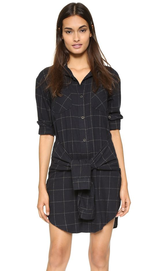 Current/Elliott The Twist Shirtdress
