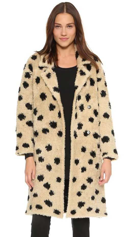 Thakoon Addition Ocelot Coat