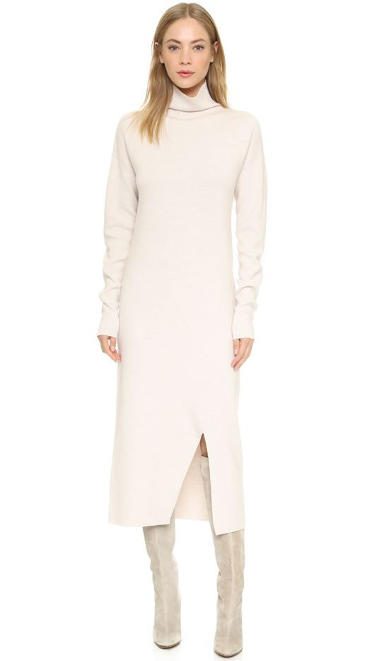 Tibi Turtleneck Sweater Dress